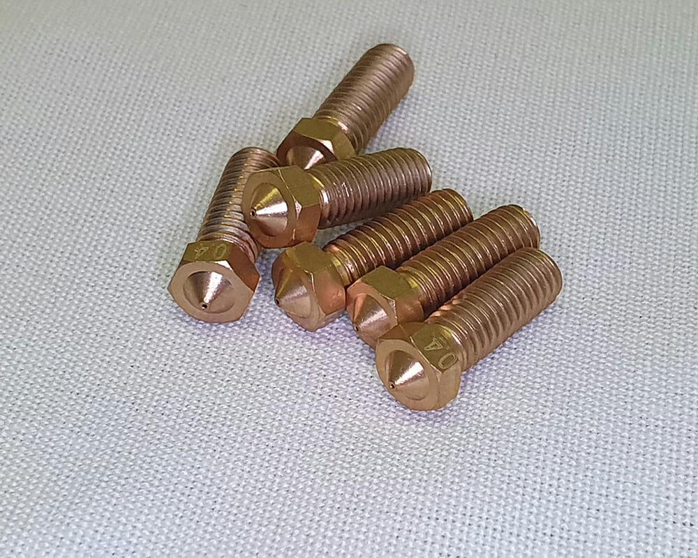 """Sx1 nozzle, boquilla tipo """"volcano"""" 0.4mm"""