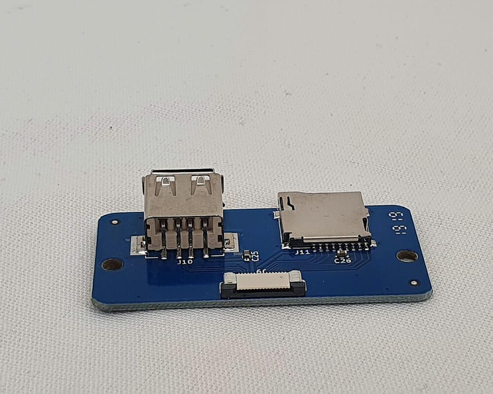 PLACA LECTOR USB/MICRO SD 2