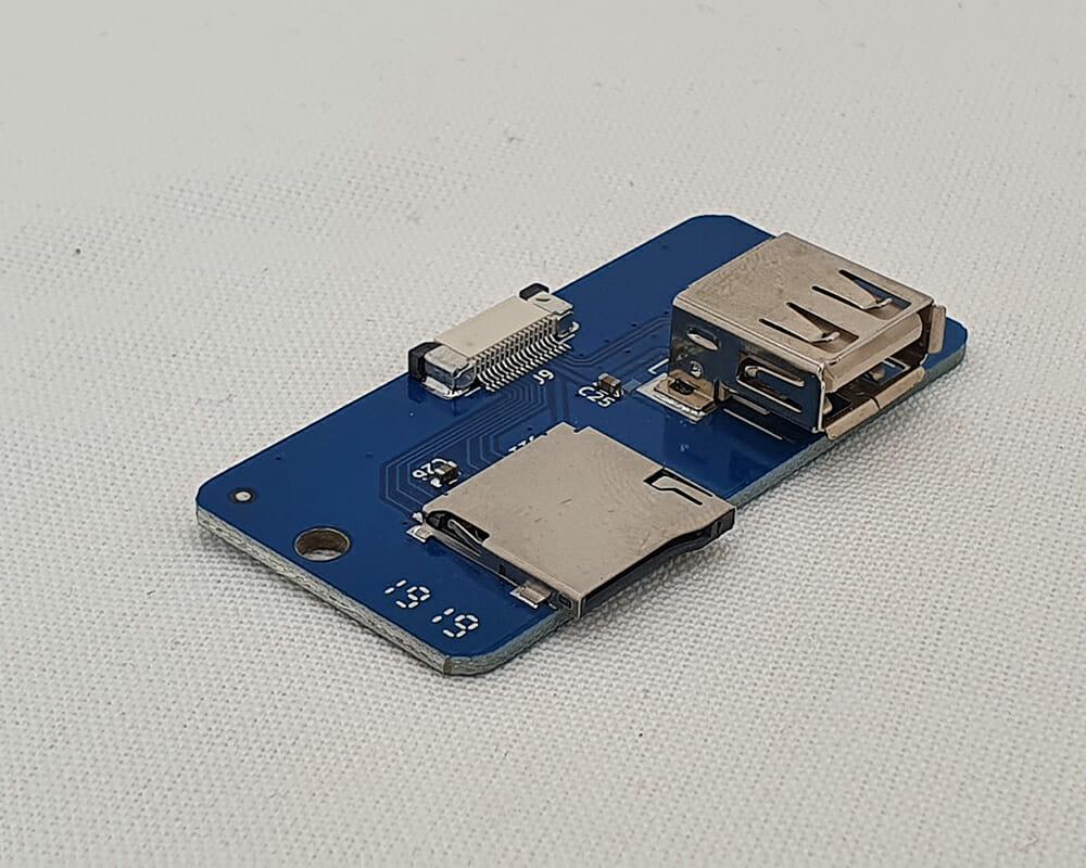PLACA LECTOR USB/MICRO SD 3