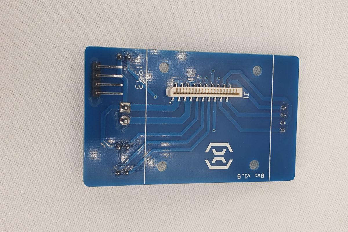 SX1 PLACA EXTRUSOR BLTOUCH MOD 1
